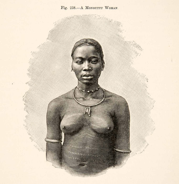 A Monbuttu woman