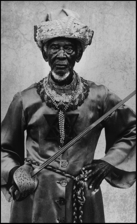 An audience with Joseph Nathaniel Hibbert, Rastafari patriarch