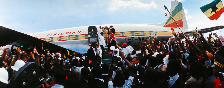 Haile Selassie visits Jamaica