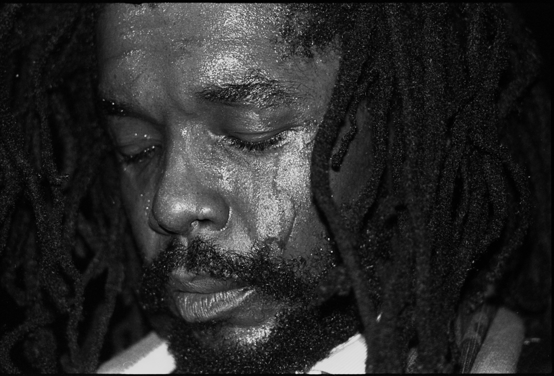 Peter Tosh at the One Love Peace Concert: the same Bucky Massa business
