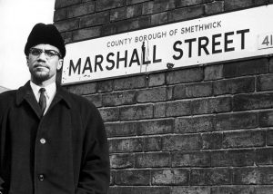 Malcolm X visits Smethwick at the invitation of the Indian Workers' Association