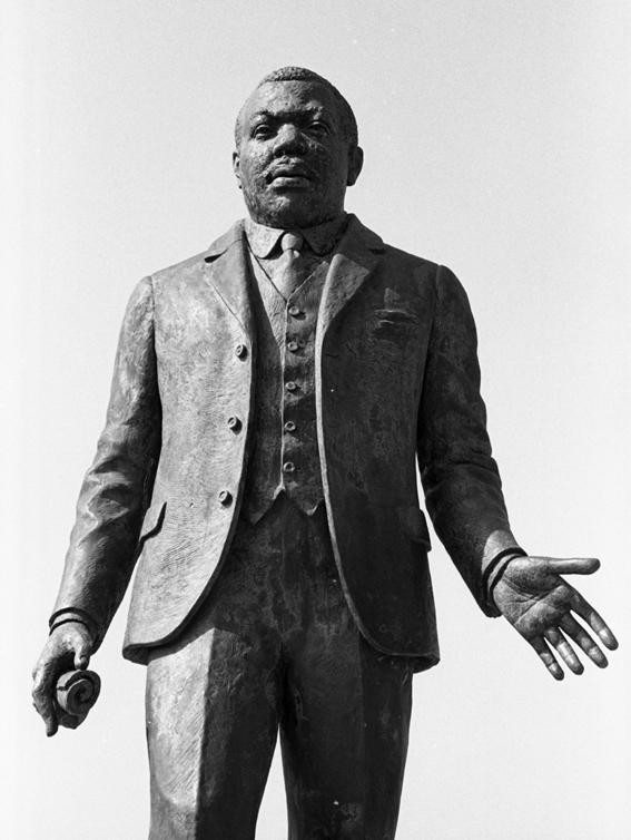 Marcus Garvey statue