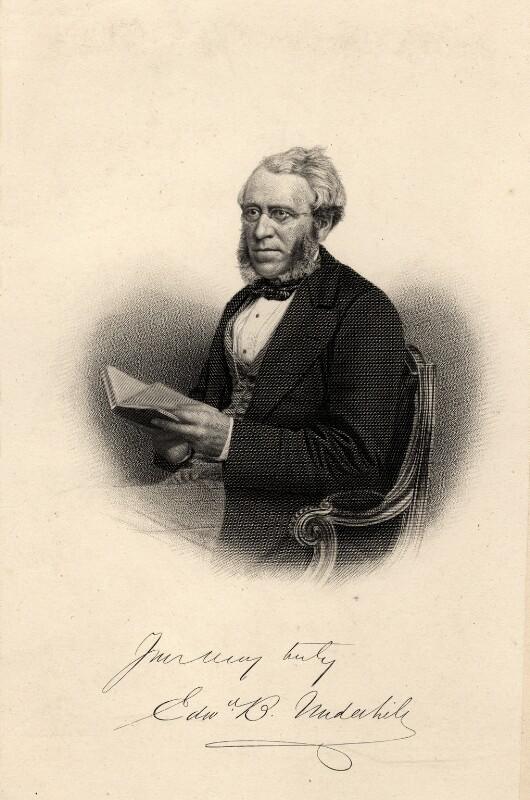 Portrait of Edward Bean Underhill