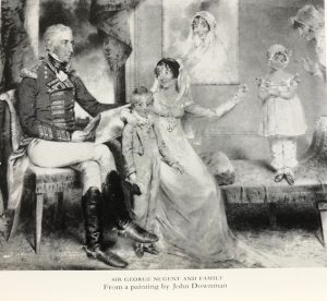 Lady Nugent dances with a negro, shocks her hosts and prompts fears of a rebellion