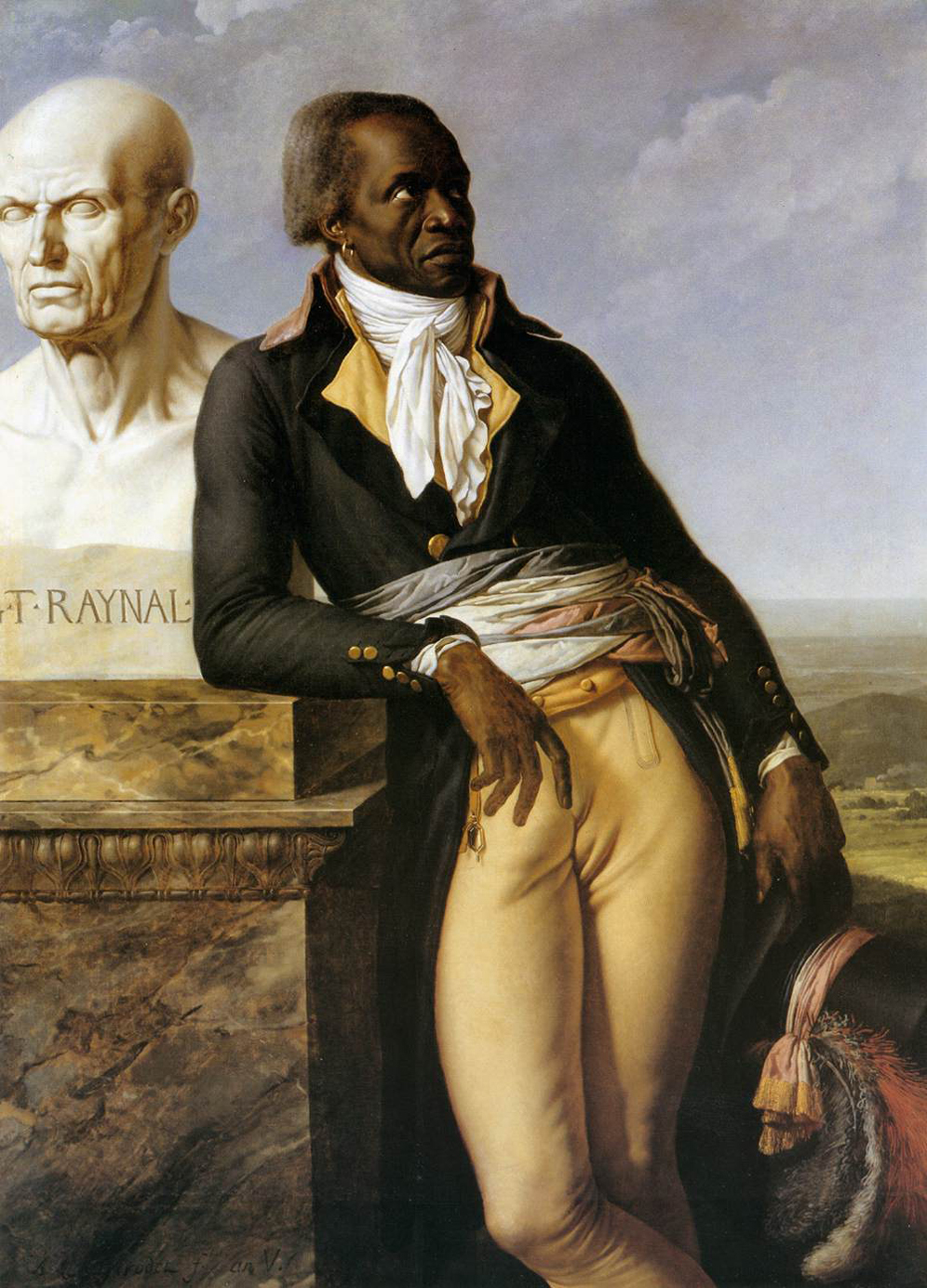 portrait of Jean-Baptiste Belley-Mars